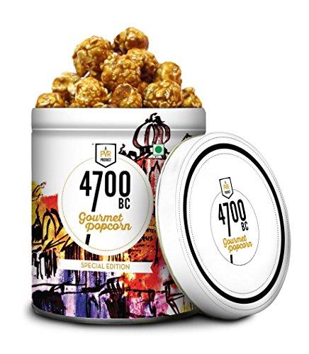 4700BC Orange Chilli Caramel Popcorn, Tin, 325g
