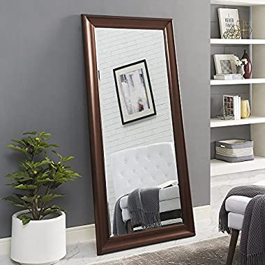Naomi Home Framed Floor Mirror Oil Rubbed Bronze