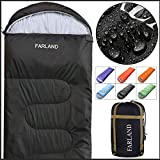 FARLAND Rectangular Sleeping Bag 0 Degree centigrade 20 Degree F,Cold Weather 4 Season for Adults, Youth,...