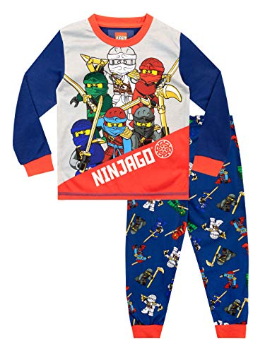 LEGO Jungen Schlafanzug Ninjago Mehrfarbig 110