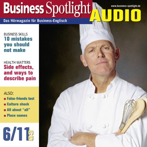 Business Spotlight Audio - 10 mistakes you should not make. 6/2011 Titelbild