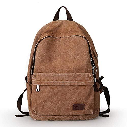 Large Capacity Rucksack Laptop Backpack Work Bag College School Bag Leisure Travel Bag