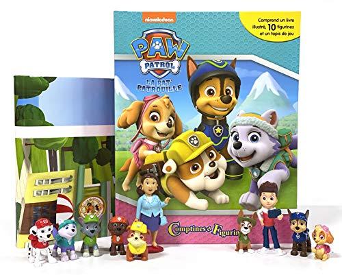 Nickelodeon Pat Patrouille Filles Comptines et Figurines