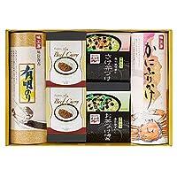 味工房 永谷園お茶漬け / カニふりかけ / 海苔 / カレーギフト ( QF-50 )