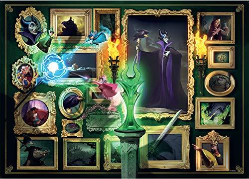 Ravensburger Puzzle 1000 Pezzi, Collezione Villainous, Puzzle per Adulti, Disney, Personaggi Cattivi, Malefica, La Bella Addormentata nel Bosco