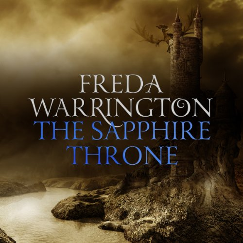 The Sapphire Throne audiobook cover art