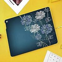 iPad Mini 3/2 / 1 ケース 超薄型 超軽量 TPU ソフトスマートカバー オートスリープ機能 衝撃吸収 二つ折りスタンド手描きの桜ファンタジーブライダルガーデンアニバーサリーテーマ装飾