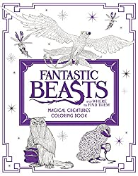 fantastic beasts and where to find them harry potter coloring book