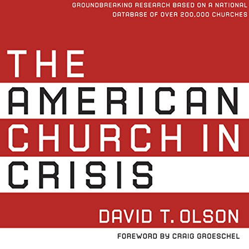 The American Church in Crisis audiobook cover art