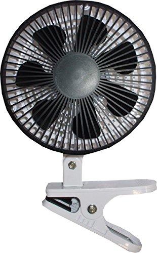 cretom ( クレトム ) 車用扇風機 DCモーター搭載スタイリッシュカーファン ホワイト/ブラック SA190