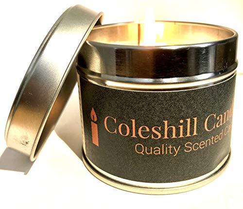 Coleshill Candle Co. - Vela perfumada para hombre, fragancia fina n.º 205, huele a agua fría.