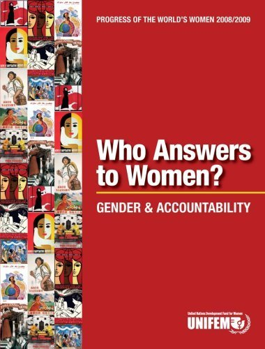 Progress of the World's Women 2008/2009, Who Answers to Women?: Gender and Accountability by UNIFEM (2008) Paperback