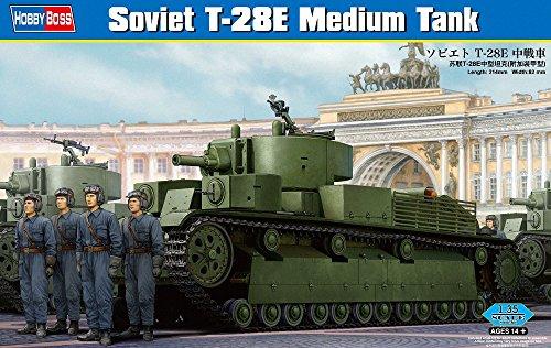 Hobbyboss 1:35 - Sovoet T-28E Medium Tank