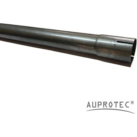 100 Cm Universal Auspuffrohr Ø 60 Mm Einseitig Aufgeweitet Abgasrohr Rohr Abgasanlage Pkw Lkw Auto