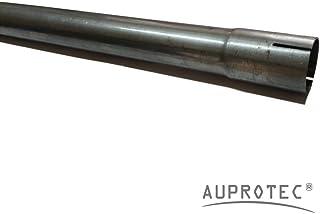 100 cm Universal Auspuffrohr Ø 52 mm einseitig aufgeweitet Abgasrohr Rohr Abgasanlage Pkw   Lkw