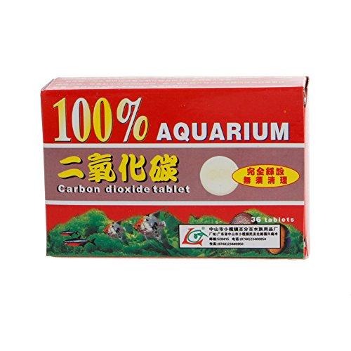 Biniwa 36 Stück CO2-Kohlendioxid-Pflanzentabletten für Pflanzen Aquarium Aquarium Diffusor