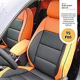 Vacant seat Premium naapa Leather Bucket seat Covers -VS- MS Alto 800 STD