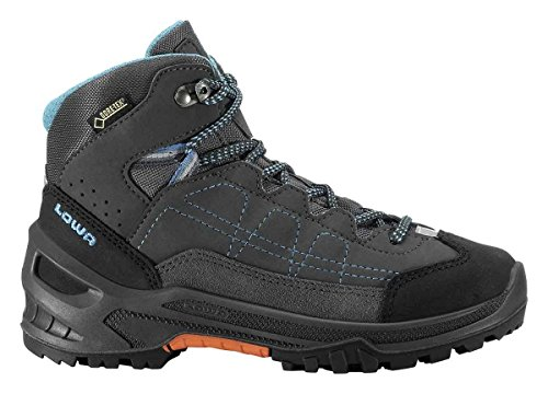Lowa Approach GTX MID Kids - Anthracite/Turquoise