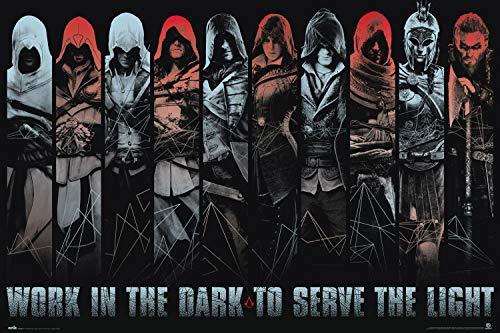 Grupo Erik - Poster Assassin's Creed, Work in the Dark, 61 x 91,5 cm GPE5501
