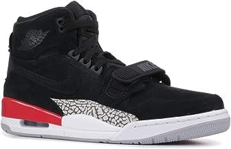 Nike Men's Air Jordan Legacy 312 Black/Fire Red High-Top Basketball - 11M