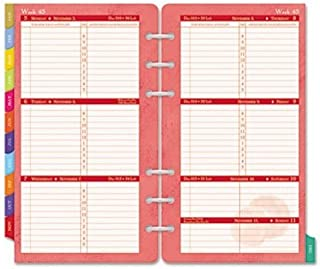 Day-Timer Flavia Weekly Portable-Size Refill 2015, 3.75 x 6.75 Inch Page Size (09636)