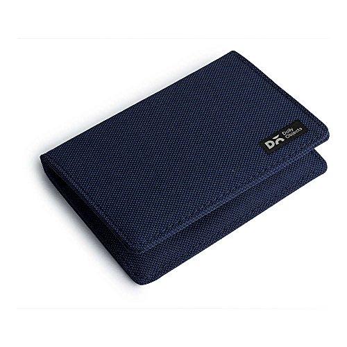 DailyObjects Blue Ballistic Nylon Card Wallet