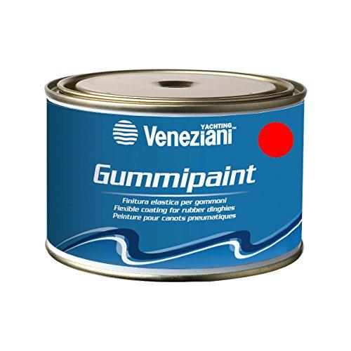 Veneziani Gummipaint Finitura elastica per gommoni, colore: Rosso, size: 375 ml