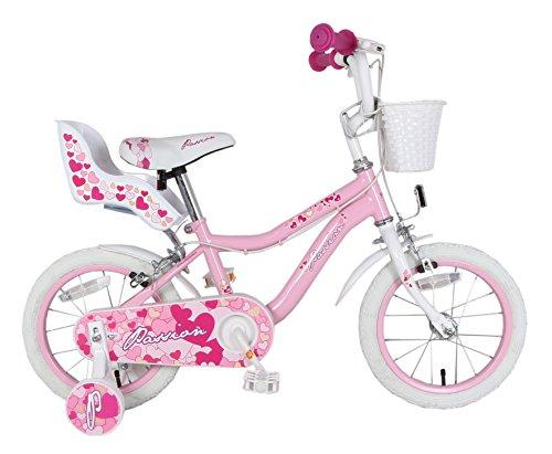 F.lli Schiano Passion, Bicicletta Bambina, Bianco/Rosa,...