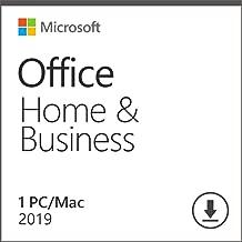 Microsoft Office Famille et Petite Entreprise 2019 | MAC Licence Lifetime | Pas d'abonnement | Licence numérique originale Envoyé dans un jour par E-mail