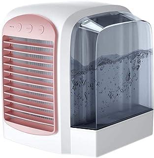 Luftkonditionering, 3 i 1 Mini USB Personal Space Air Cooler, luftfuktare, renare, Desktop-kylfläkt med 3 hastigheter och ...