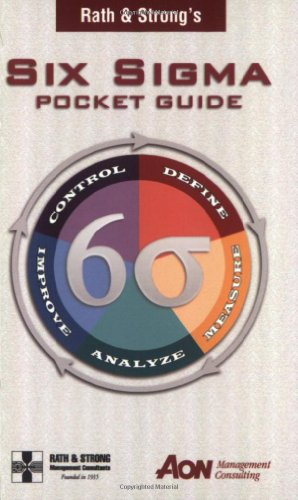 Rath & Strong's Six Sigma Pocket Guide