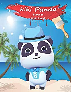 kiki panda: summer sketchbook, for kids, 120 pages, 8.5 x 11 inch, Developing the artistic sense of your children.