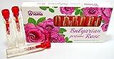 Bulgarian ROSE Aceite perfume aroma 10 frascos x 2.1ml regalo de recuerdo