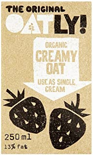 Oatly - Organic Creamy Oat - Oat Alternative to Cream - 250ml
