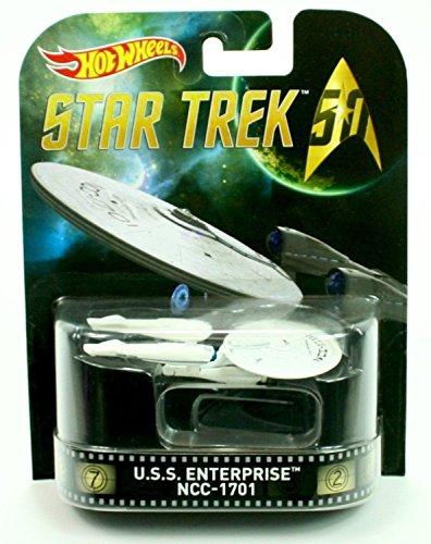 HOT WHEELS STAR TREK U.S.S. ENTERPRISE NCC-1701 RETRO