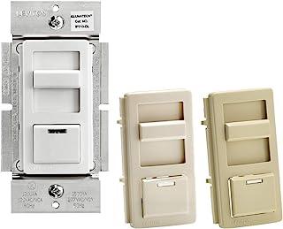 Leviton IP710-DLZ IllumaTech Slide Dimmer for LED 0-10V Power Supplies, 1200VA