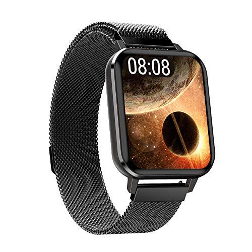 Reloj Inteligente, Rastreador De Actividades De Todo El Día Con Monitor De Sueño De Frecuencia Cardíaca,Pantalla Táctil Completa, Podómetro Impermeable, Adecuado Para Teléfonos Android Y Teléfonos Ios