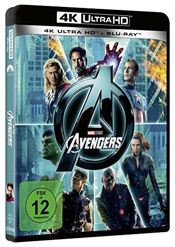 Marvels The Avengers (4K Ultra HD) (+ Blu-ray 2D)