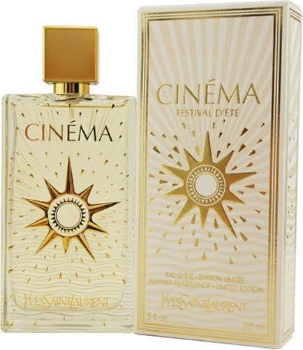 Cinema Festival D'ete Summer By Yves Saint Laurent For Women, Eau De Toilette Spray, 3-Ounce Bottle (2007 Edition)