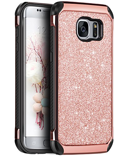 BENTOBEN Funda Compatible con Galaxy S7 Edge, Compatible con Samsung Galaxy S7 Edge Samsung Galaxy S7 Edge Duos