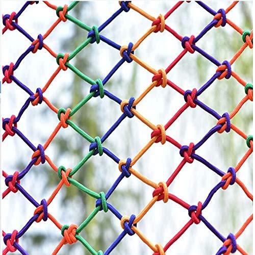 Decoratief Net Veiligheidsnet Voor Kinderen - Buitenbescherming Hek Binnen Decor Gaasnet Anti-cat Isolatie Multicolor Optioneel (Size : 1 * 4M)