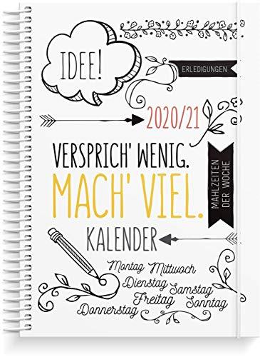 Doodle Life Planner Schülerkalender 2020/2021 | A5 | Organisieren Sie Ihre Agenda stilvoll | Wochenplaner | Organizer | Aufkleberseite mit 325 Aufklebern