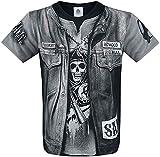 Spiral - Jax Wrap - Camiseta con Estampado Completo - Negro - XL