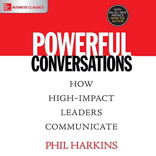 Powerful Conversations audiobook cover art