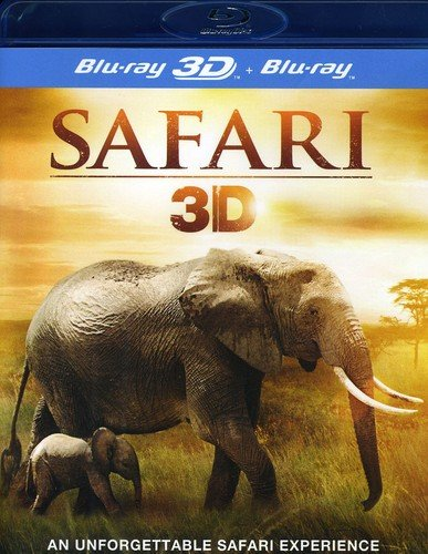 Safari 3D (Blu-ray 3D + Blu-Ray) [2013] [Region A & B & C]