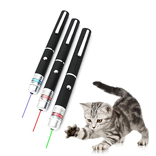 3 pieces laser point three colors