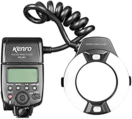 Kenro Ttl Macro Ringblitz Kfl201n Für Nikon Kamera