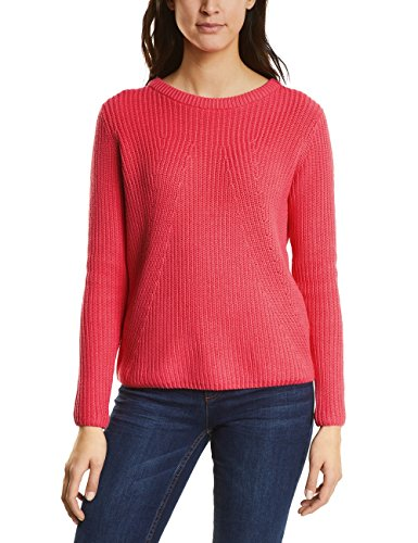 Street One Damen 300500 Pullover, Rosa (Colada Pink Knit 11262), 44