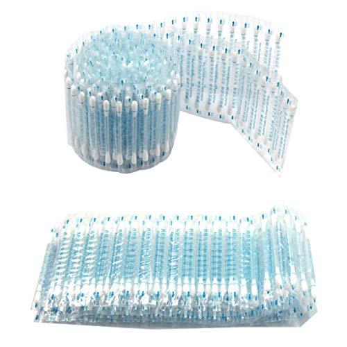 Lisanl Alkohol-Wattestäbchen, Einweg-Produkt, medizinischer Alkohol-Stick, desinfizierte Wattebäuschen Notfallpflege, Sanitär