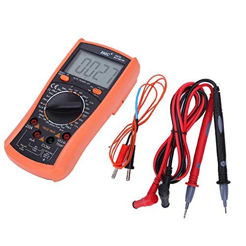 Multímetro de bolsillo, multímetro digital, multímetro Pantalla LCD Industrias para fábricas Hogares Laboratorios